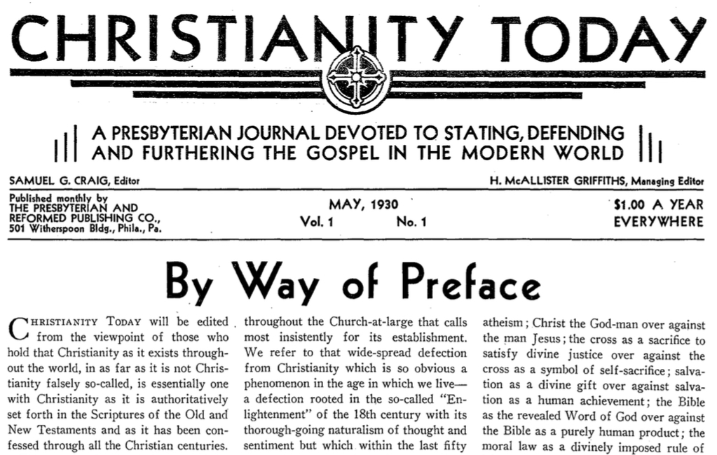 Christianity Today_1930